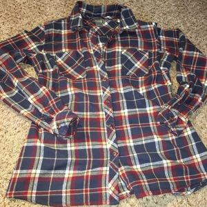Natural reflections Flannel  size medium